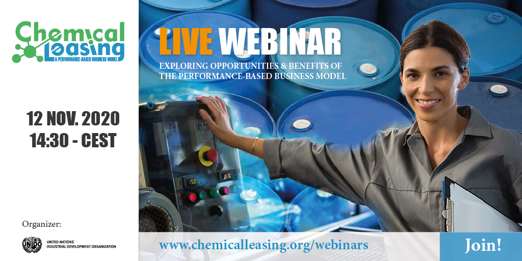 Join the Chemical Leasing Webinar!